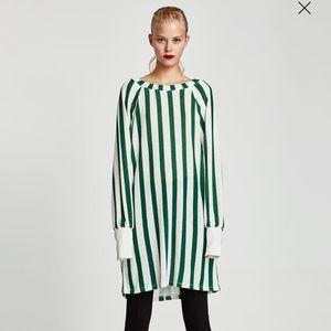 NWT Zara Striped dress!